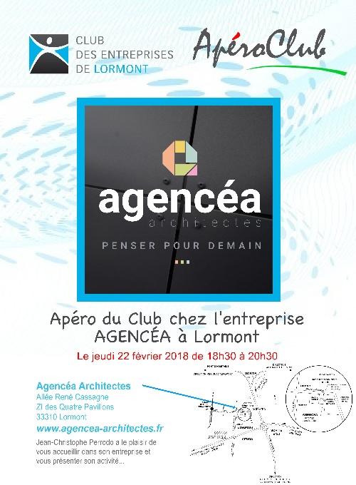 ApéroClub Fevrier 2018 - AGENCEA