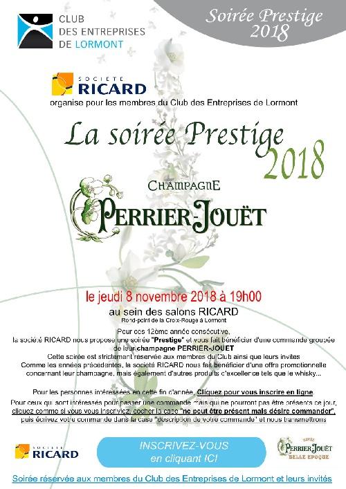 Soirée Prestige - RICARD - 2018