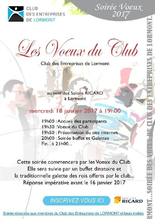 Voeux du Club Des Entreprises de Lormont