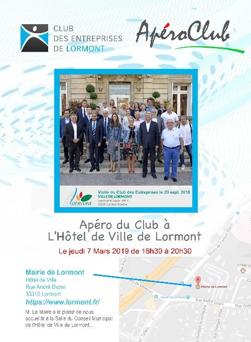 ApéroClub Mairie de Lormont 2019