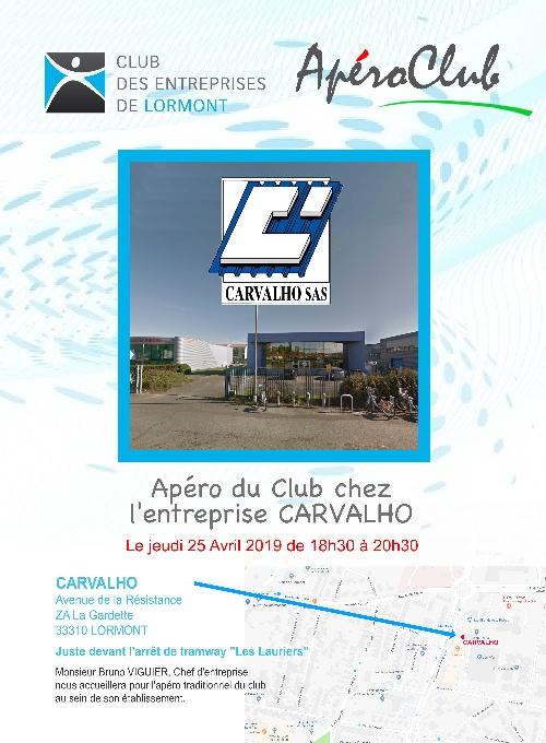 ApéroClub Avril 2019 CARVALHO