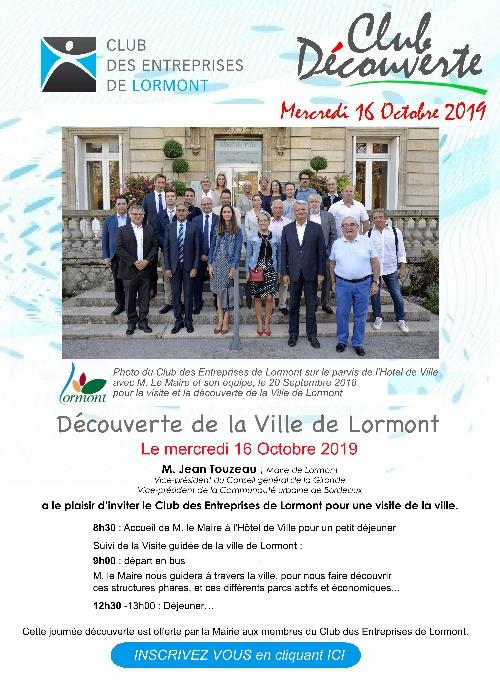 Visite de la Ville de Lormont